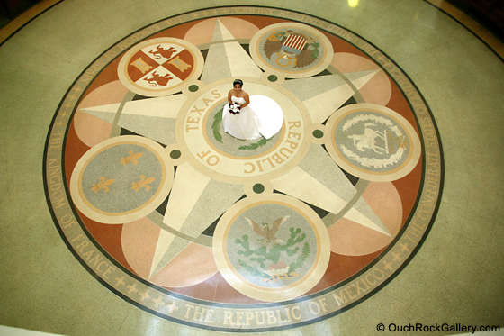 Bridal Photography - At the Texas State Capital Building