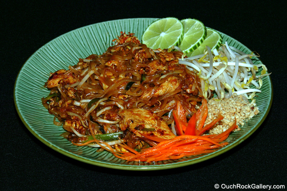 Restaurant and Food Photography - Pad Thai Noodles