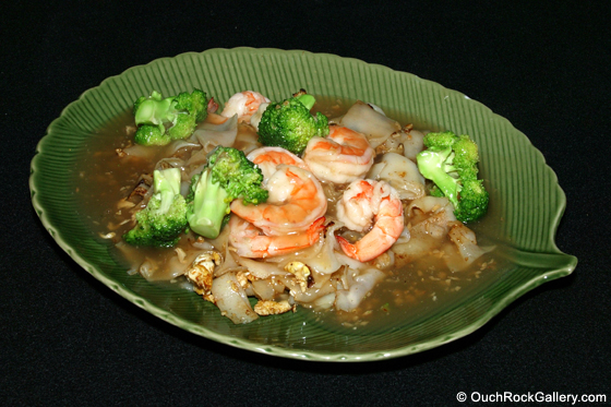 Restaurant and Food Photography - Pad Kee Mao with Shrimp